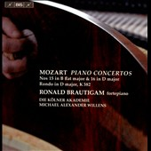 Mozart: Piano Concertos Nos. 15 in B flat major & 16 in D major