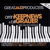 Chet Baker (Trumpet/Vocals/Composer)/Sonny Rollins/Thelonious Monk/Bill Evans (Piano)/Cannonball Adderley: Great Jazz Producers: Orrin Keepnews & Bill Grauer 1955-1962 Recordings