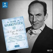 Igor Markevitch, conductor: The Complete HMV Recordings - Rossini, Mendelssohn, R. Strauss, J.S. Bach, Prokofiev, Dallapiccola et al. ('Icon' Series) [18 CDs]