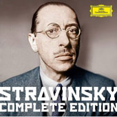 Stravinsky: Complete Edition - Stage Works, Orchestral, Choral,  Vocal, Chamber, and Piano Music / Ashkenazy, Bostridge, Langridge, Maisky, Mustonen, Mutter, Pletnev, Pollini, Sacher, Shelton, Terfel, Stravinsky et al. [30 CD + 150-pg. booklet]