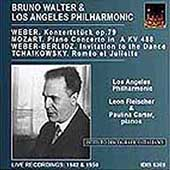 Bruno Walter & LA PO - Weber, Mozart, et al / Fleischer, etc