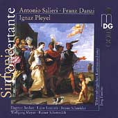 Sinfonia Concertante - Salieri, Danzi, Pleyel / Faerber