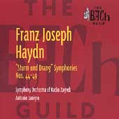 Bach Guild - Haydn: Symphonies no 44-49 / Janigro, Zagreb