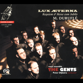 Lux Aeterna - Durufl&eacute;, Poulenc, / Dijkstra, The Gents