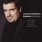 Beethoven: Piano Sonatas no 8, 14, 17, 23 / Artur Pizarro