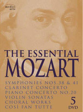 The Essential Mozart / de Billy, Shaham, Barenboim [5 DVD]
