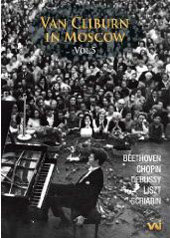 Van Cliburn In Moscow Vol. 5 (1960, 1965, and 1972) / Beethoven, Debussy, etc. [DVD]