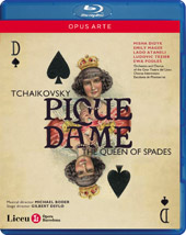 Tchaikovsky: The Queen of Spades / Boder, Didyk, Magee, Ataneli, Tezier [Blu-Ray]