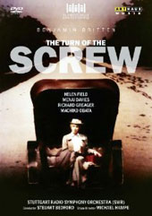 Britten: The Turn Of The Screw / Field, Davies, Greager, Obata. Stuttgart Radio SO, Bedford [DVD]