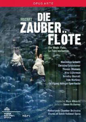 Mozart: Die Zauberflöte (The Magic Flute) / Schmitt, Landshamer, Oliemans et al.; Netherlands CO; Dutch Nat'l Opera Chorus; Albrecht [DVD]