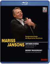 Dvorák: Symphony No. 9 'From the New World'; Mussorgsky: Pictures at an Exhibition / Bavarian Radio SO, Mariss Jansons [Blu-ray]