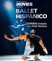 Lincoln Center at the Movies Presents Ballet Hispánico / CARMEN.maquia and Club Havana [Blu Ray Video]