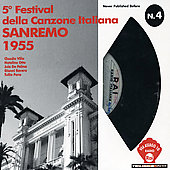 Various Artists: Rai Via Asiago: San Remo 1955