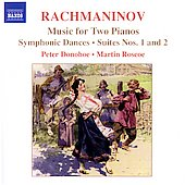 Rachmaninov: Music for Two Pianos / Donohoe, Roscoe