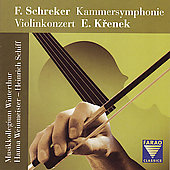 Schreker: Kammersymphonie, etc / Schiff, et al
