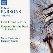 Parsons: First Great Service, etc / Barnaby Smith, et al