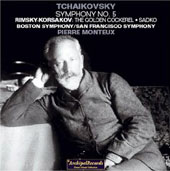 Tchaikovsky: Symphony no 5;  Rimsky-Korsakov / Monteux, et al
