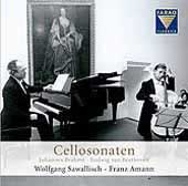 Brahms, Beethoven: Sonatas for Cello and Piano / Amann, Sawallisch
