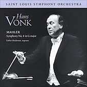 Saint Louis Symphony Orchestra - Mahler: Symphony No 4 in G major / Vonk, St. Louis SO