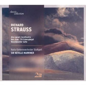 Richard Strauss: Also sprach Zarathustra; Don Juan; Till Eulenspiegel; Rosenkavalier Suite / Marriner