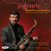 Légende: Works for Saxophone and Orchestra