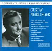 Bass baritone Gustav Neidlinger