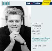 Hermann Prey: Liederabend 1963