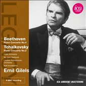 Beethoven: Concerto no 4; Tchaikovsky: Concerto no 2 / Emil Gilels, piano