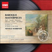 Baroque Masterpieces by Bach, Handel, Telemann, Pachelbel et al. / Marriner