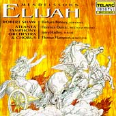 Mendelssohn: Elijah / Shaw, Bonney, Quivar, Hadley, Hampson