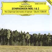 Schubert: Symphonies 1 & 2 / Abbado, CO of Europe