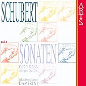 Schubert: Sonaten Vol 1 - D 279, 568, 277A / Damerini