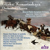 Glinka: Kamarinskaya; Orchestral Dances / Moscow Radio SO