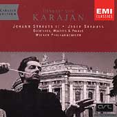 Karajan Edition - J. Strauss II, et al: Overtures, etc