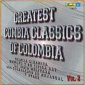 Various Artists: Greatest Cumbia Classics of Colombia, Vol. 2