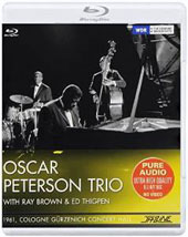 Oscar Peterson: 1961 Cologne, Gürzenich Concert Hall