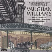 Ralph Vaughan Williams: A London Symphony; Symphony No. 8 / Royal Liverpool PO, Andrew Manze