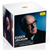 Eugen Jochum: Complete Recordings on Deutsche Grammophon, Vol. 1 - Orchestral Works / Eugene Jochum, conductor [42 CDs]