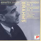 Bernstein Century - Brahms: Symphonies no 2 & 3 / NYPO