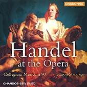 Handel at the Opera / Simon Standage, Collegium Musicum 90