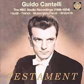 Guido Cantelli - The NBC Studio Recordings (1949-1954)