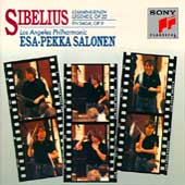 Sibelius: Lemminkäinen Op 22, etc / Salonen, Los Angeles PO
