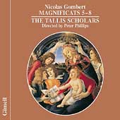 Gombert: Magnificats 5-8 / P. Phillips, The Tallis Scholars