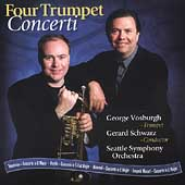 Four Trumpet Concerti / Vosburgh, Schwarz, Seattle SO