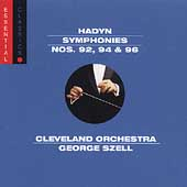 Haydn: Symphony no 92, 94, 96 / Szell, Cleveland Orchestra