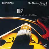 The Complete Cage Edition Vol 32 - One / Michael Bach