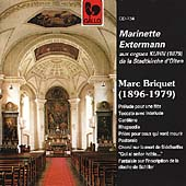 Briquet: Nine Works for Organ / Marinette Extermann