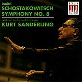 Schostakowitsch: Symphony no 8 / Sanderling, Berlin SO