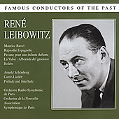 Famous Conductors of the Past - René Leibowitz