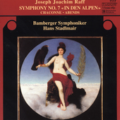 Raff: Symphony no 7, etc / Stadlmair, Bamberg SO